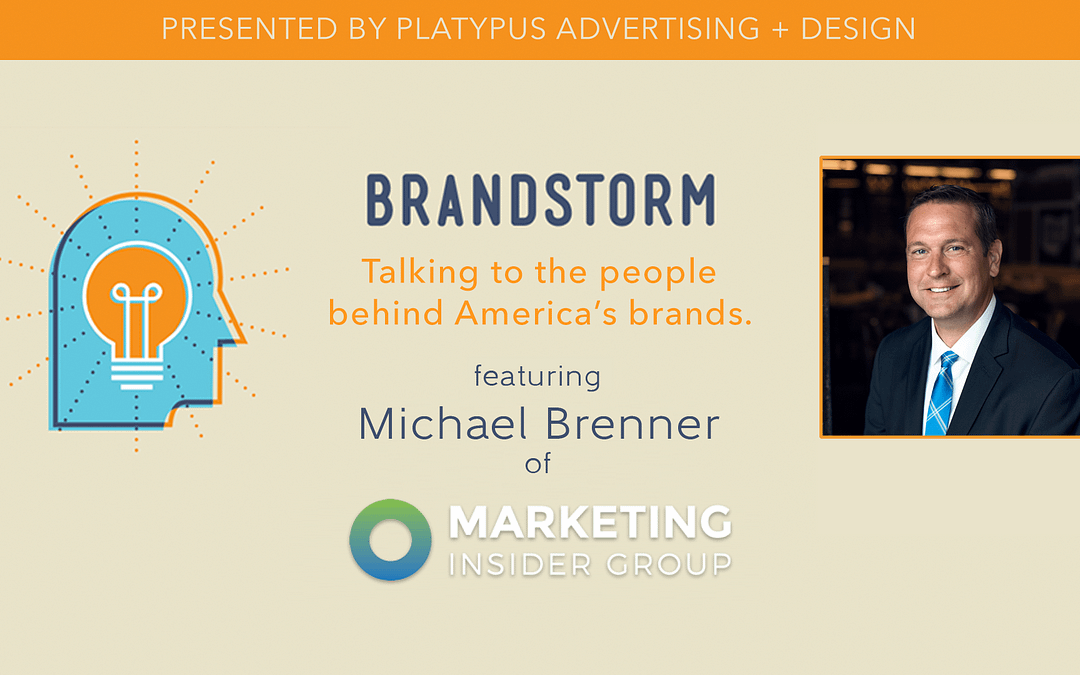 Episode 55: Content Marketing to Consumers with Michael Brenner